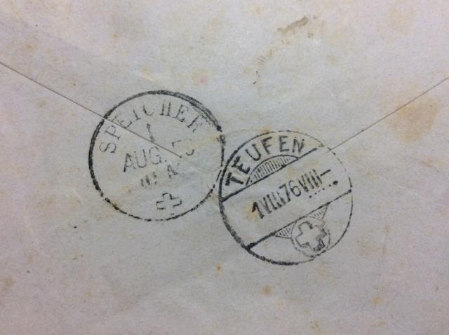 1.August 1876 Speicher/Teufen/Stein Image25