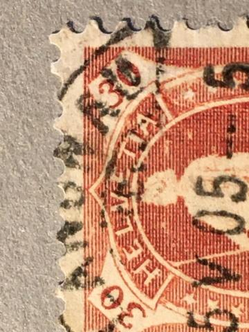 SBK 68D, Stehende Helvetia 30 Rp Image262