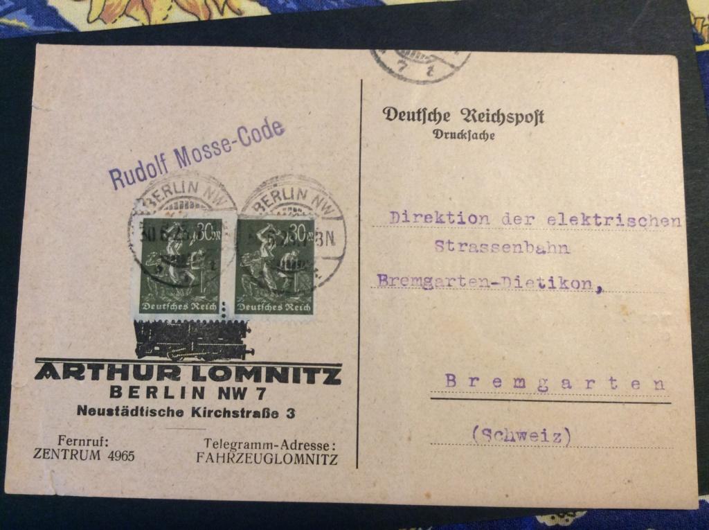 Drucksache Deutsche Reichspost Image35