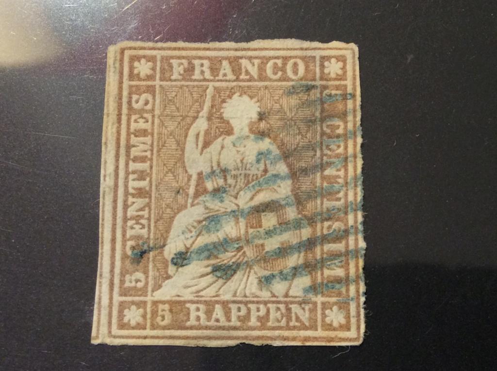 Bestimmung 5 Rp. Strubel  Image58