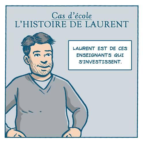 BD Cas d'école : l'histoire de Laurent par Remedium Timoris Histoi10