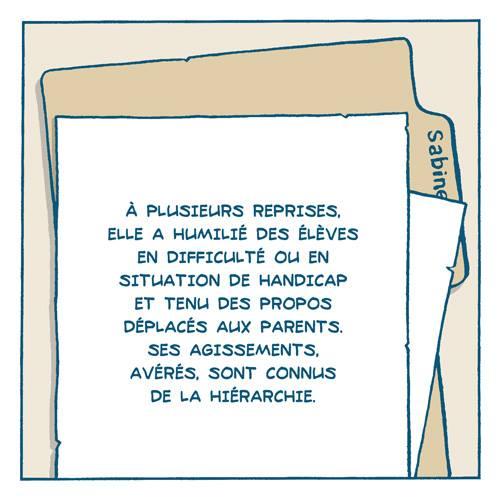 BD Cas d'école : l'histoire de Laurent par Remedium Timoris Histoi16