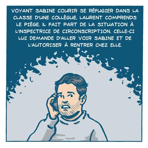 BD Cas d'école : l'histoire de Laurent par Remedium Timoris Histoi23