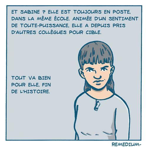 BD Cas d'école : l'histoire de Laurent par Remedium Timoris Histoi33