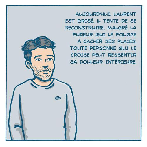 BD Cas d'école : l'histoire de Laurent par Remedium Timoris Histoi35