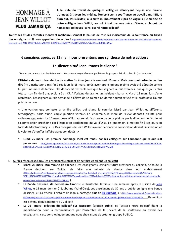 Val-d'Oise : soupçonné de violence, l'enseignant met fin à ses jours. Pétition p. 5 - Page 9 Synthz10