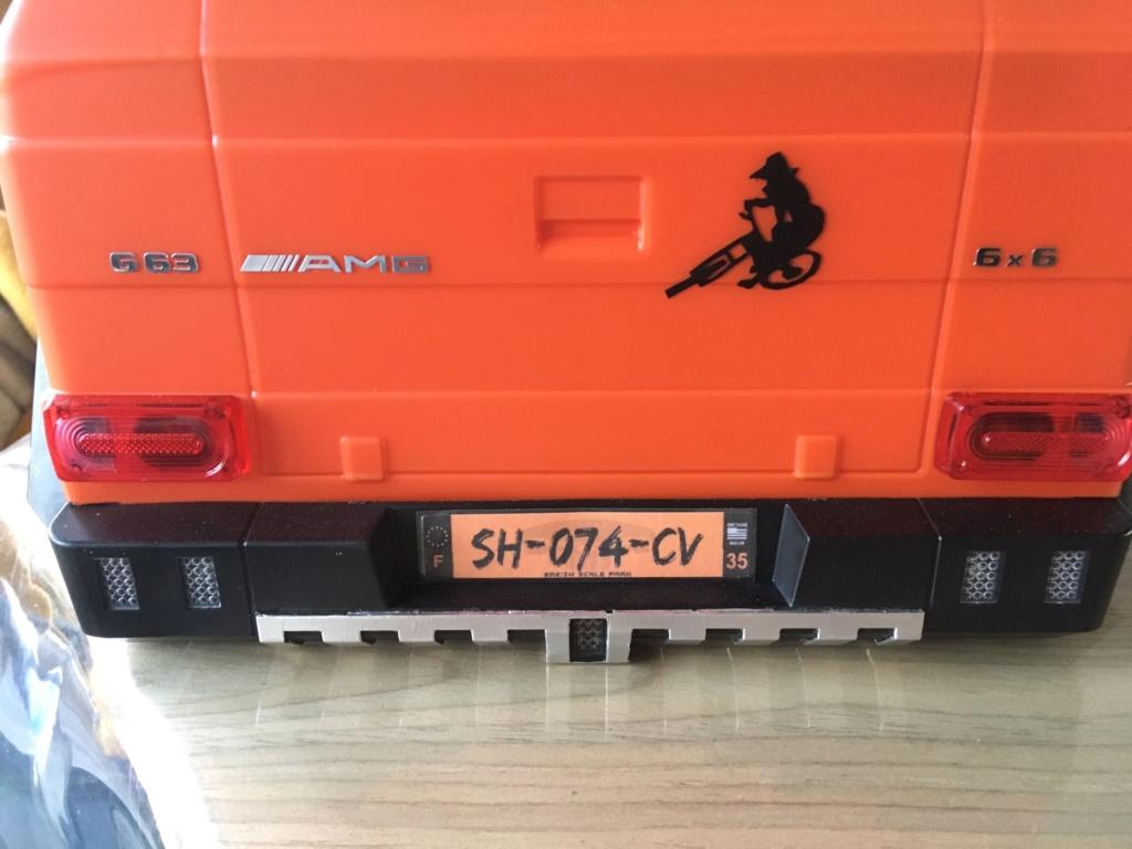 Traction Hobby B-G550 4x4 vers G63 6x6 9730c010