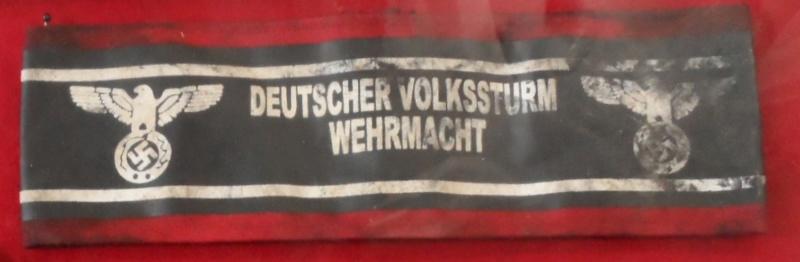 brassard Volkssturm et écussion FFI ??? 110