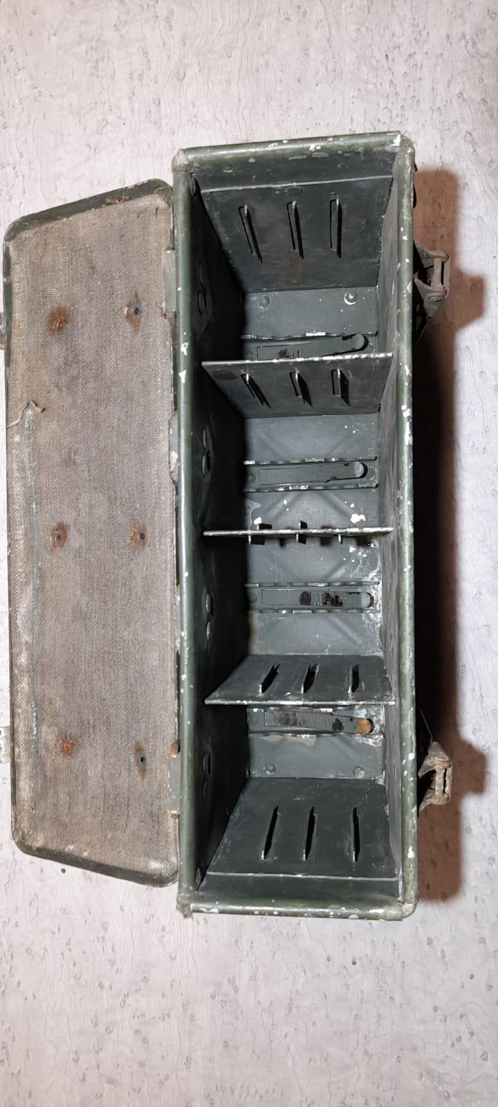 cartouchière métallique 112