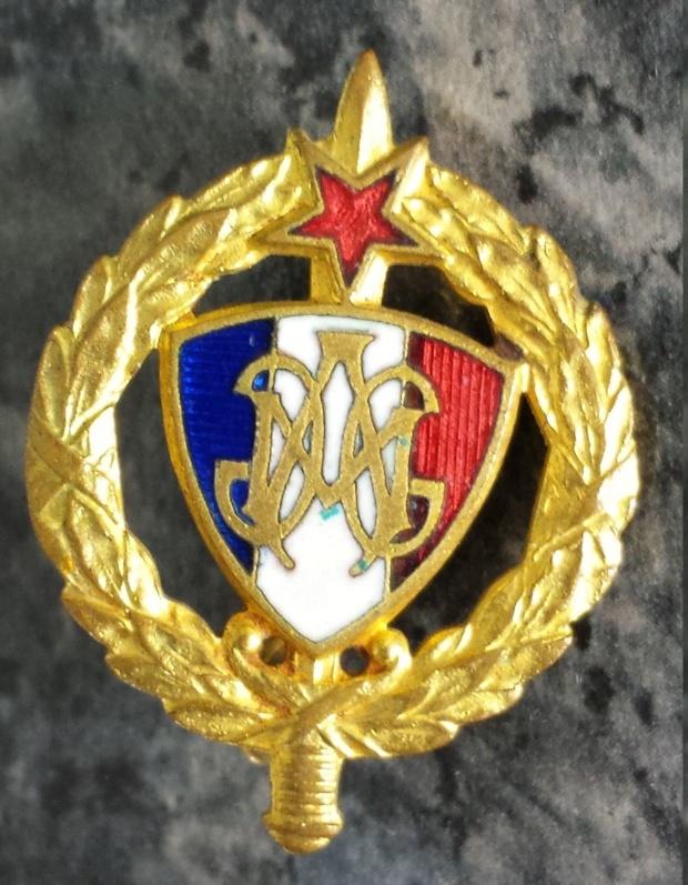 insigne ''Le médailler Paris'' 20200511