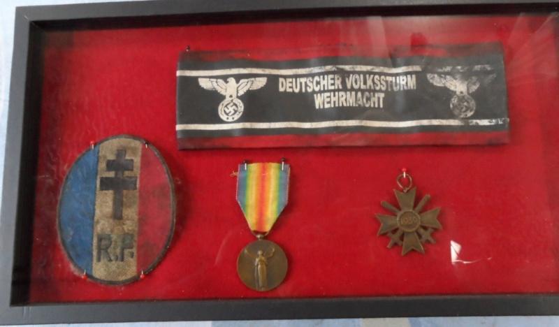 brassard Volkssturm et écussion FFI ??? 310