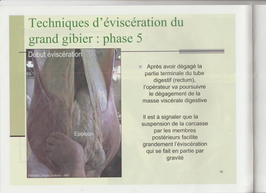 Dossier Hygiène et traitement de la venaison Hy0911