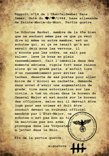 Rapports du Leutnant Hans Immer, opérations de 1944 sur le Front de l'Ouest (15 RAPPORTS) Partie13