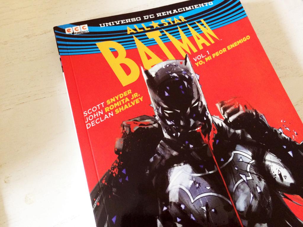 (OFREZCO) All-Star Batman: Yo, mi peor enemigo Vol. 1 Img_5910