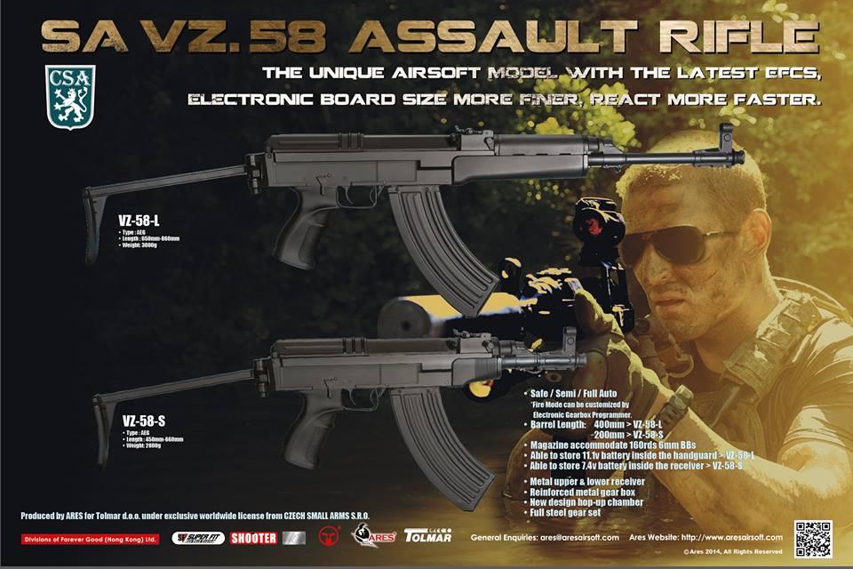 ARES/TOLMAR VZ58 (VERSION 2018) - Et non, ce n'est pas un AK! - EDIT du 18/08/2020 Ares-a10