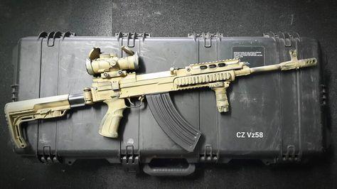 ARES/TOLMAR VZ58 (VERSION 2018) - Et non, ce n'est pas un AK! - EDIT du 18/08/2020 Ba8bf510