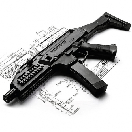 ASG SCORPION EVO 3A1 (VERSION 2018) Cz-sco10