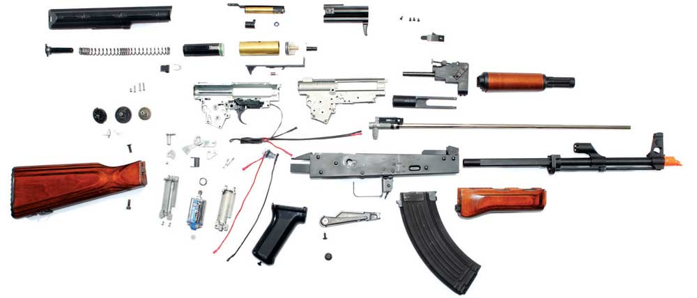G&G ARMAMENT (GuayGuay) - AKM - AEG G-and-10