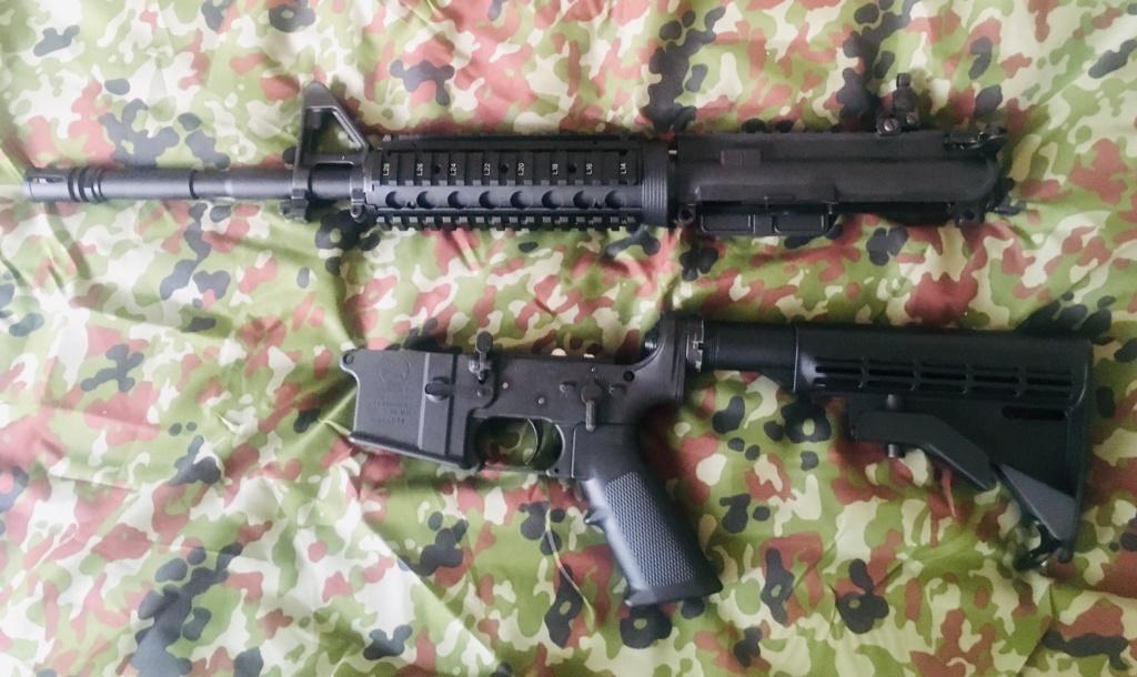TOKYO MARUI - M4A1 MWS ZET SYSTEM - GBBR Img_e236