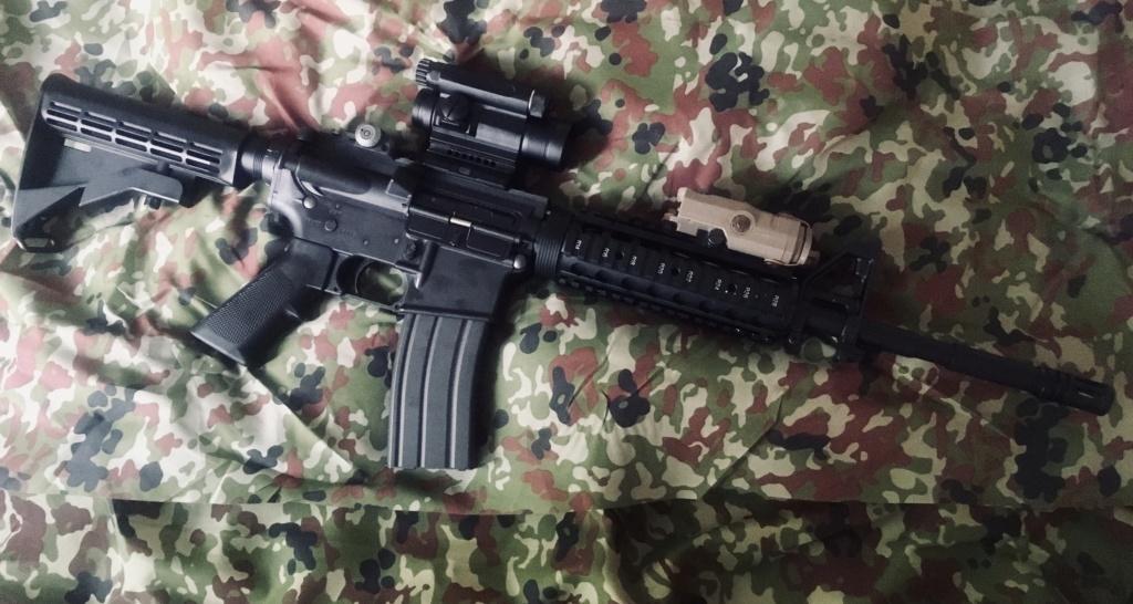 TOKYO MARUI - M4A1 MWS ZET SYSTEM - GBBR Img_e246