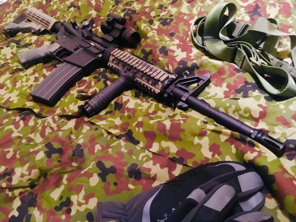 TOKYO MARUI - M4A1 MWS ZET SYSTEM - GBBR Img_e299