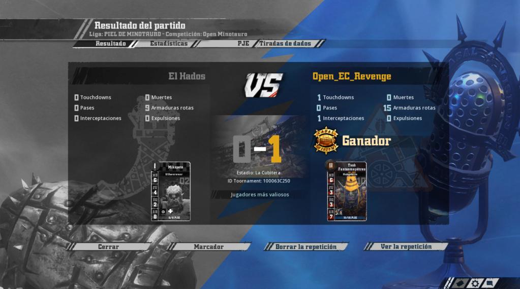 Open Minotauro Verano 2019 - Retos e Informes de partidos Sin_tz11