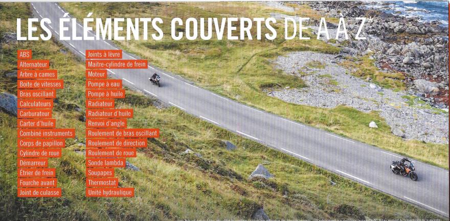 La garantie KTM pour 1290 SAS Extens10
