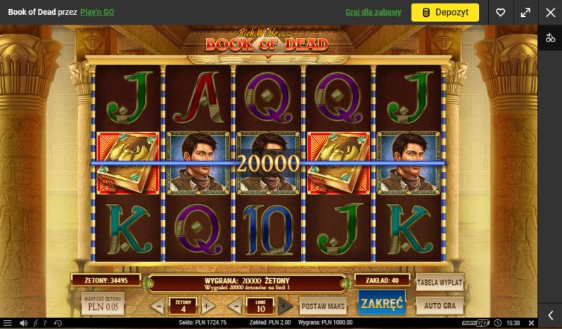 Screenshoty naszych wygranych (minimum 200zł - 50 euro) - kasyno - Page 19 Book_o10