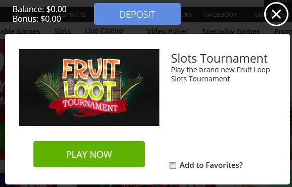 Darmowe turnieje kasynowe - freeroll - Page 13 Fruit10