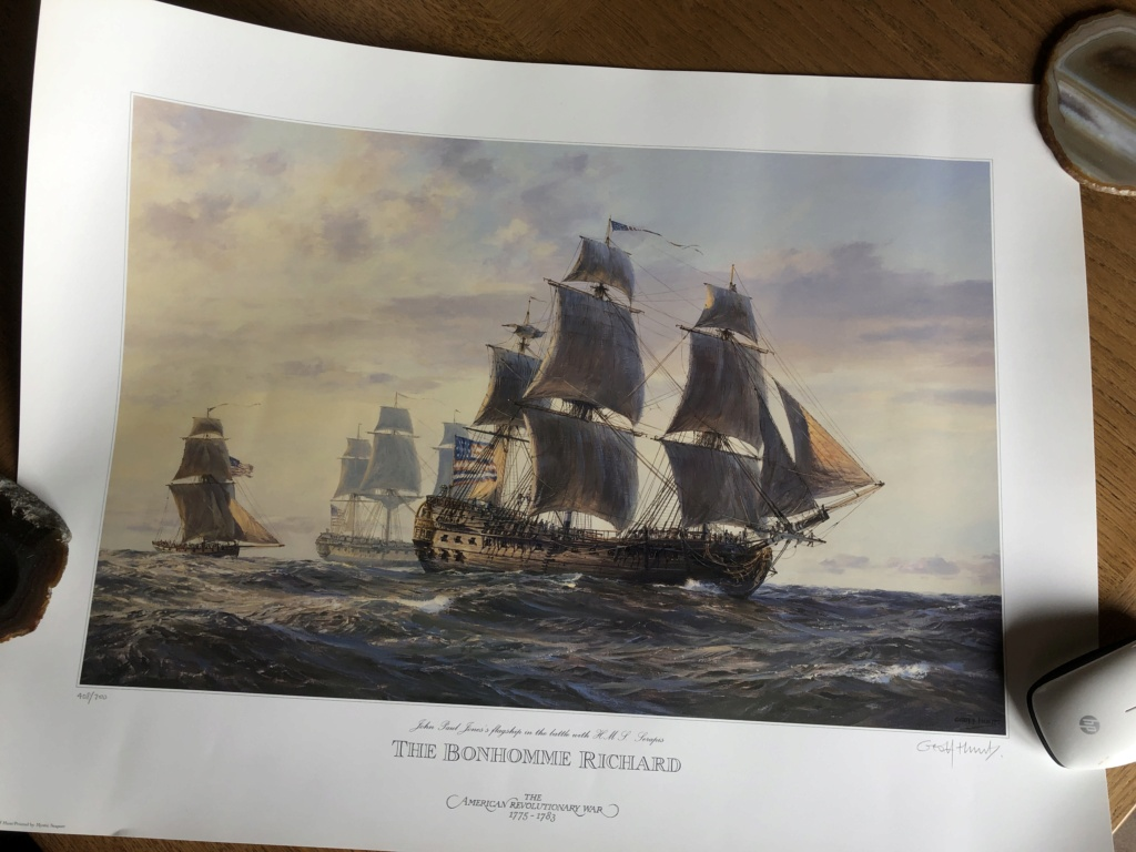 Le Bonhomme Richard au 1/48e Kit de ZHL model - Page 15 71f01510