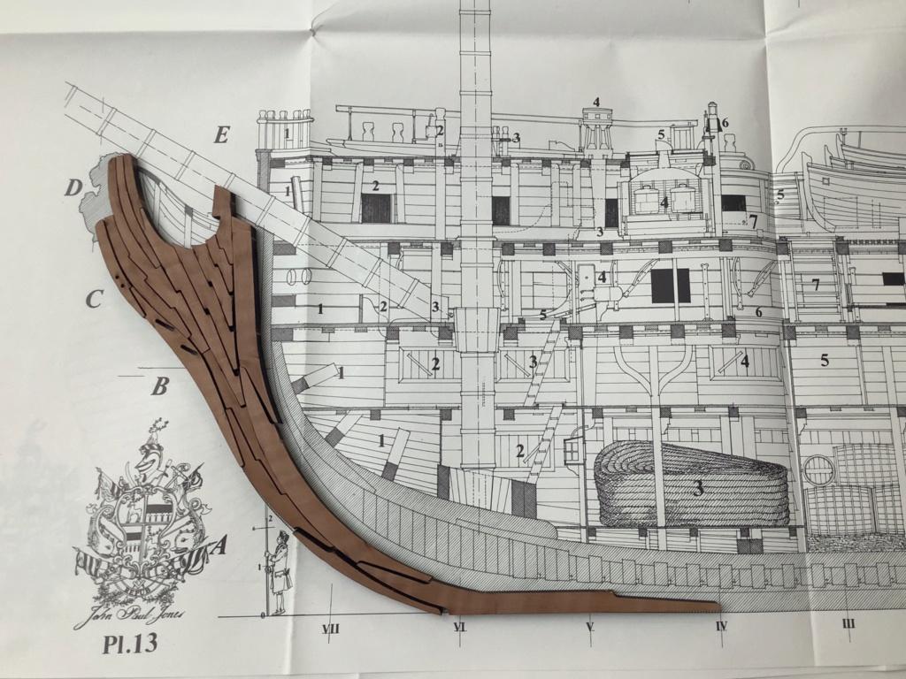 Bonhomme Richard : Partie-1 Coque & Pont (ZHL Model 1/48°) par Pierre Malardier - Page 3 A39d2910