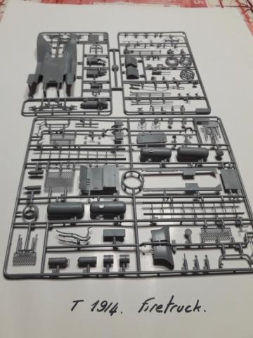 FIRE TRUCK FORD modèle T 20200468