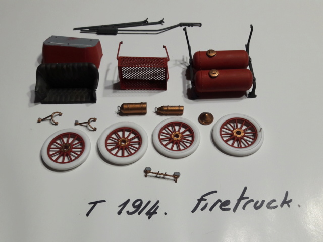 FIRE TRUCK FORD modèle T 20200470