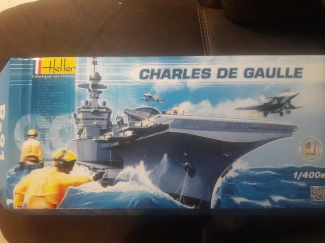 Le  porte avions CHARLES DE GAULLE 20200529