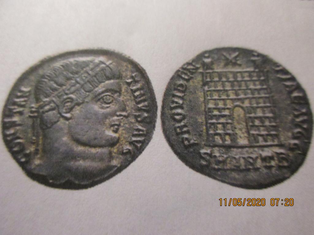 Centenionalis ou Nummus pour Constantin Ier ... Img_0534