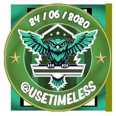 (ESC) @usetimeless (Entregue - Allan) Usetim10