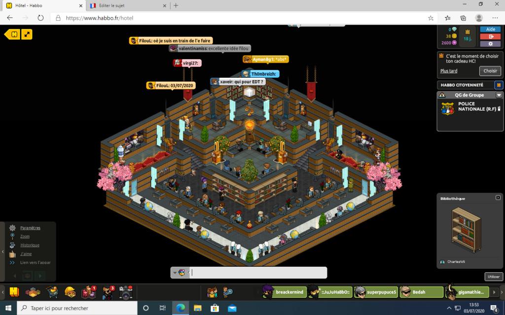[C.M] Rapport d'activité de FilouL Ra41