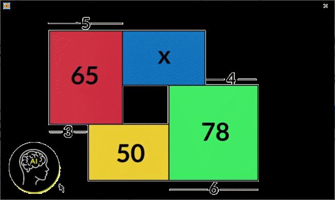 Puzzle geométrico - quadrilátero dividido em outros 4 Pictur11