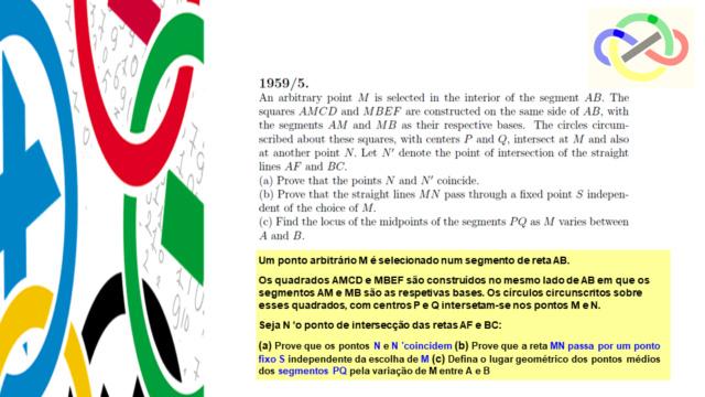 IMO 1959-#5 - Quadrados e Círculos circunscritos Slide211