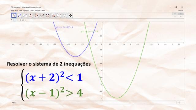 Sistema de 2 inequações Slide259