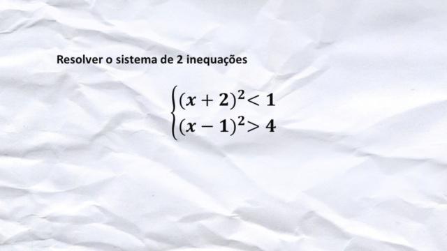 Sistema de 2 inequações Slide260