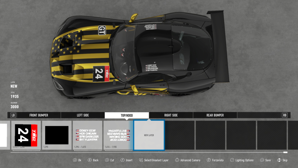 TEC R1 24 Hours of Daytona - Livery Inspection - Page 6 Top13
