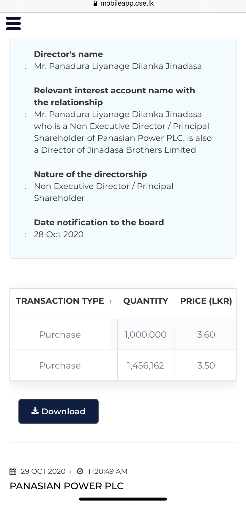 PANASIAN POWER PLC (PAP.N0000) - Page 15 F7362710