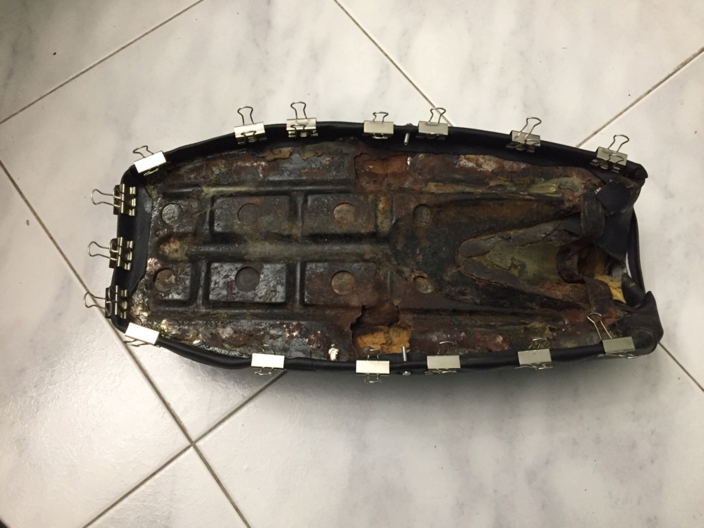 Restauración y preparación de la Puch Cobra 74 tt  16197210