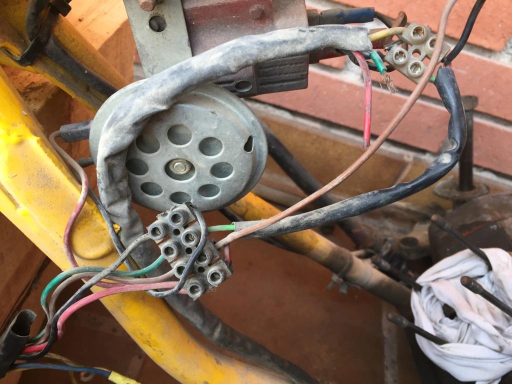 Restauración y preparación de la Puch Cobra 74 tt  62608a10