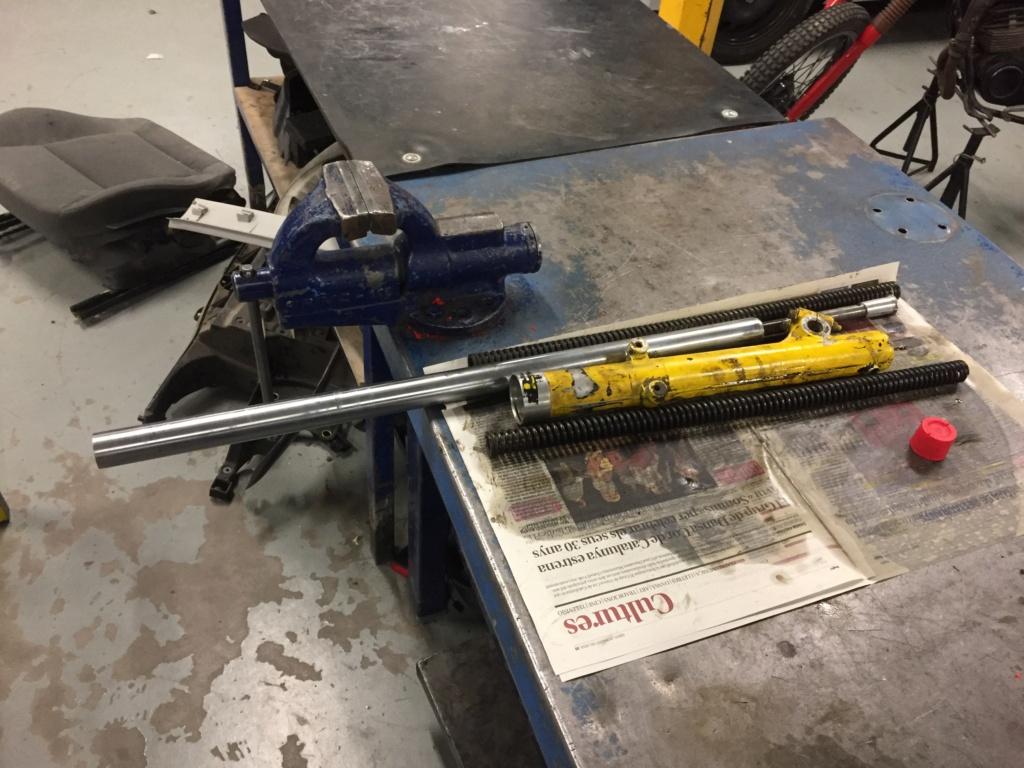 Restauración y preparación de la Puch Cobra 74 tt  74bc4b10