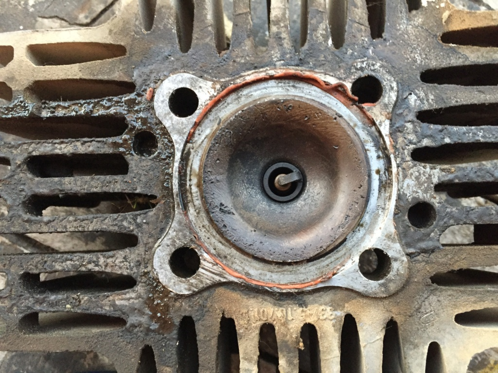 Restauración y preparación de la Puch Cobra 74 tt  83c3ab10