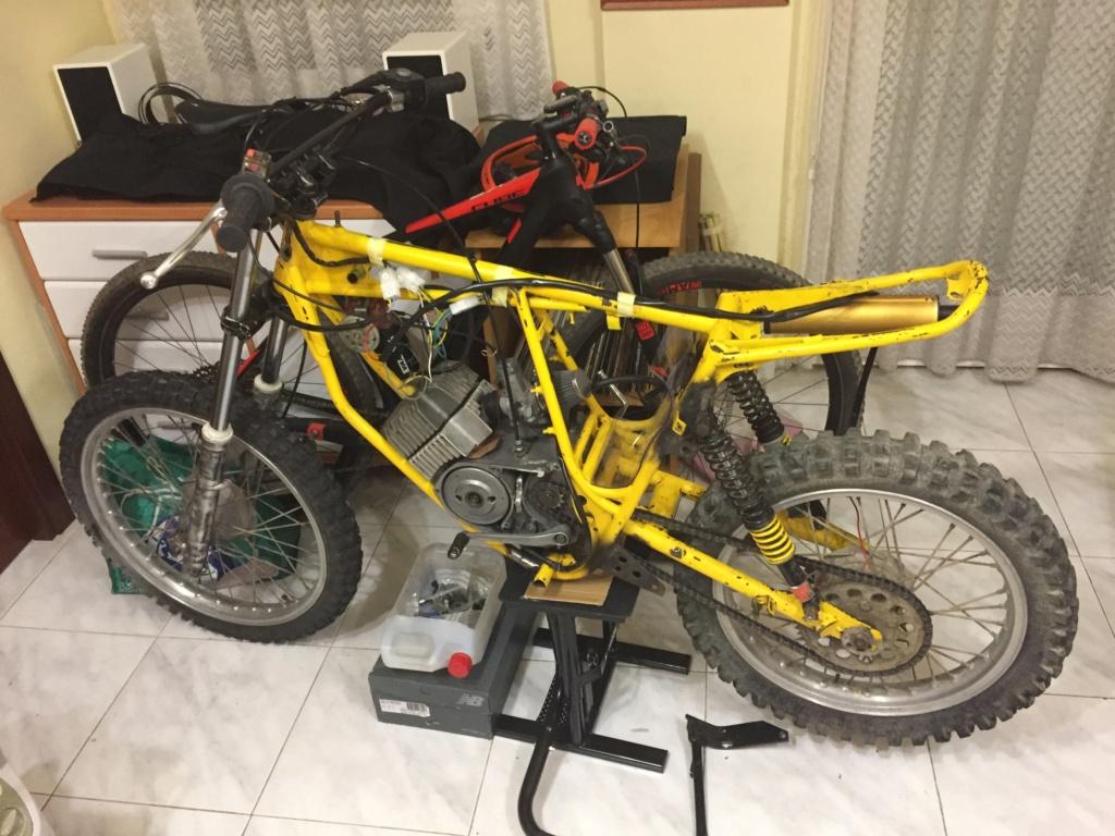 Restauración y preparación de la Puch Cobra 74 tt  99cf9010