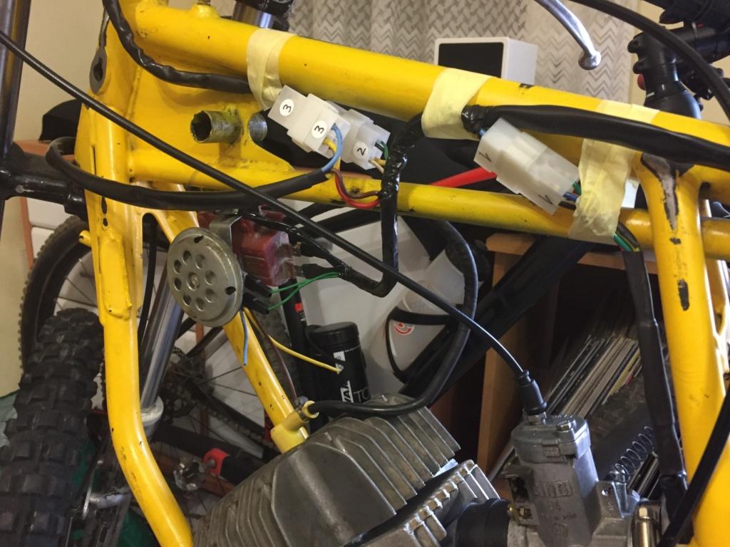 Restauración y preparación de la Puch Cobra 74 tt  9ae1a110