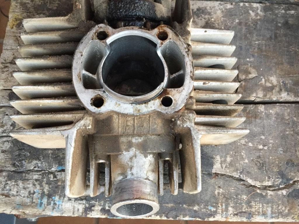 Restauración y preparación de la Puch Cobra 74 tt  B4c02810